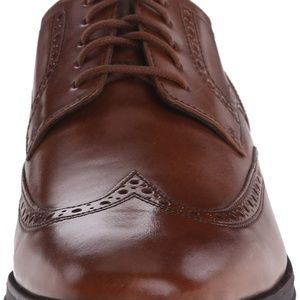 Cole Haan Wing-Tip Oxford Shoe British Tan 11 M